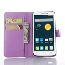 Newest hot sell flip case for alcatel pop 2 premium lite