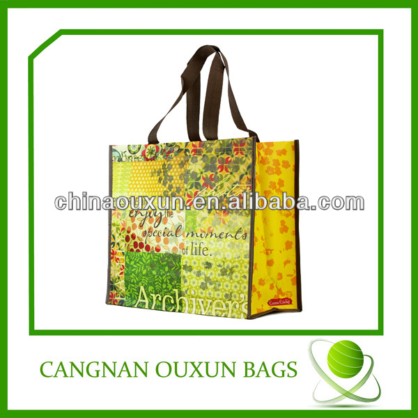 Durable in use cute reusable shopping bags
