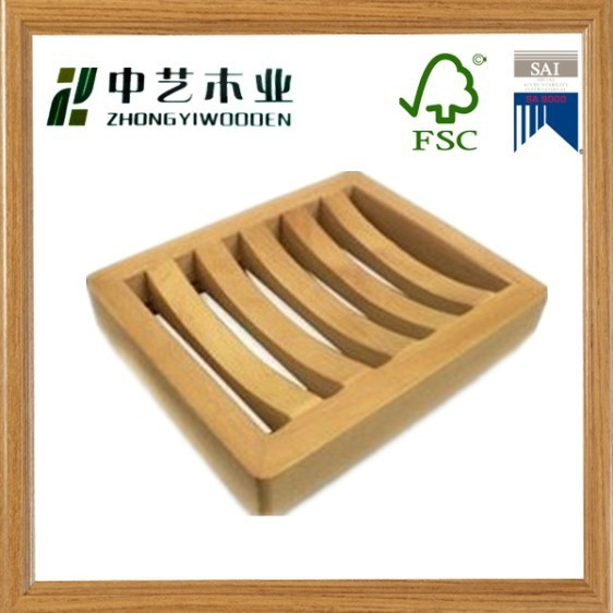 bamboo wood custome natural soap dish on sale soap tay soap holder