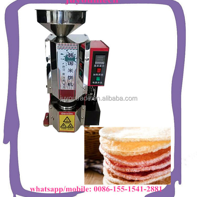 Hot Selling Korea Rice Cracker Application Rice snack for small business