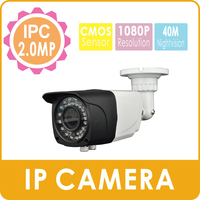 CCTV ip camera system waterproof 1080P 2.0 Megapixel 1/3 sony IMX322 bullet camera