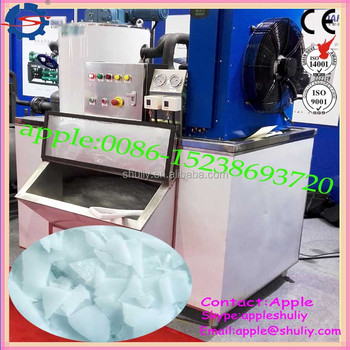 best selling air cooled salt water flake ice machine /ice maker manufacturer