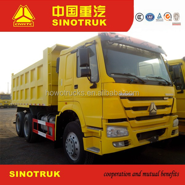 Export HOWO 6x4 340hp Tipper truck /mining dump truck for sale
