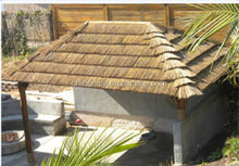 Novel decoration materials plastic thatch roofing