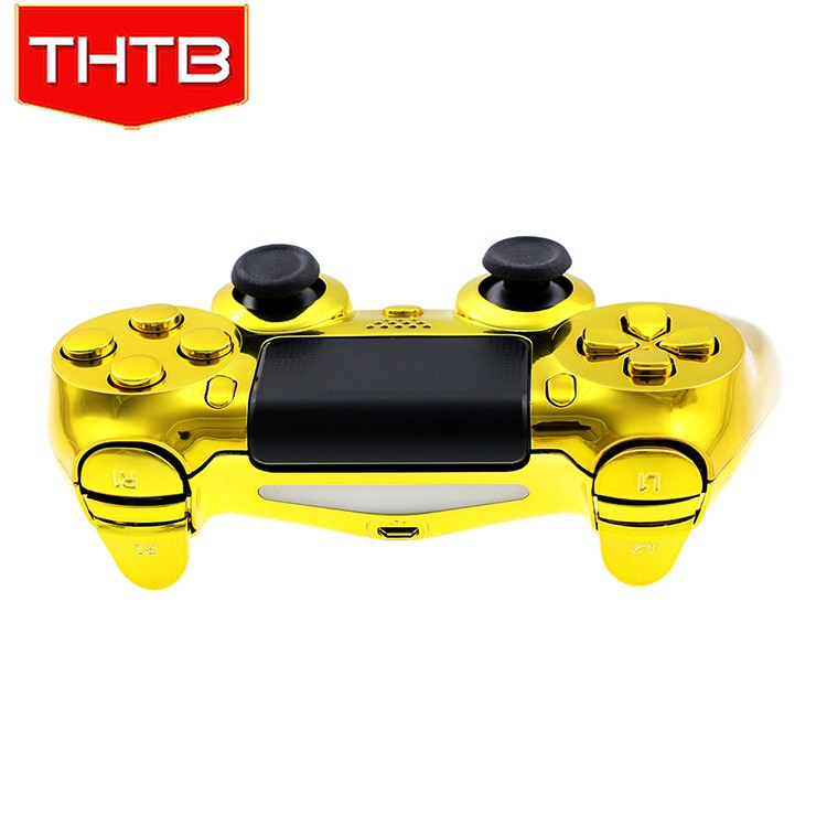 High quality chrome gold housing shell for ps4 controller cover