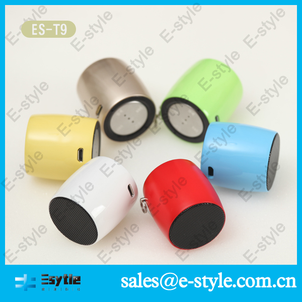 2014 new China Alibaba colorful wireless doorbell speaker with bluetooth with microphone