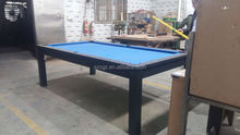 2 in 1 mutli-purpose Combo dinner and pool table