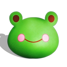 baby crib pillow round plush animal pillow toy frog baby pillow home decor soft baby toys