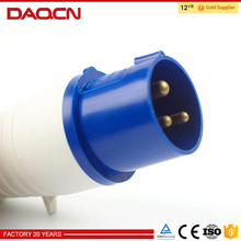Guaranteed quality industrial plug and socket 16a 3pin