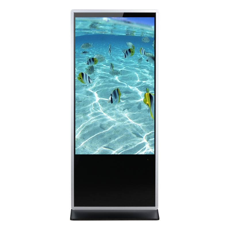55 Inch Stand LCD Touch Screen Kiosk PC