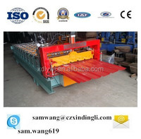 high speed color steel corrugated roofing sheet forming machine/tile making machine