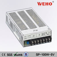 Professional seller 100W single output with PFC Function switching power supply