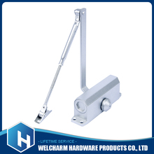Different size with door closer types, aluminum alloy 60-80 kg weight remote control floor spring door closer