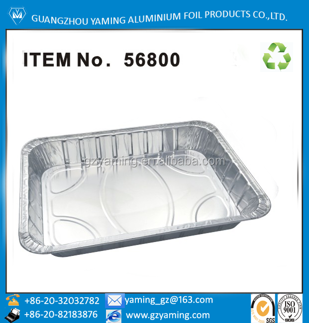 foil containers disposable aluminium foil steam table pan tableware aluminium foil turkey pan aluminium food baking pan