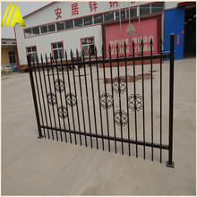 ANJU-steel fence DK003 ISO9001 industrial safety steel fence