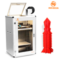 3D Rapid prototyping machine in PLA ABS filament , MINGDA high quality 3d printer with full linear bar