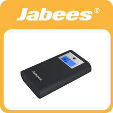 Top Selling Dual USB Output rechargeable 7800mAh real capacity power bank with LCD display to show battery in Number -Jabees P6