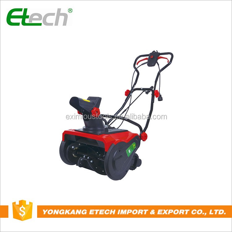 Professional manufacturer self-propelled electric snow thrower