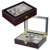 Luxury 12 Slots EbonyLacquered Wooden Watch Collection Box