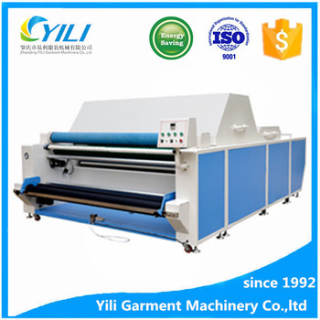heat shrink machine knitting textile finishing steam shrinking machine equipment manufacturer