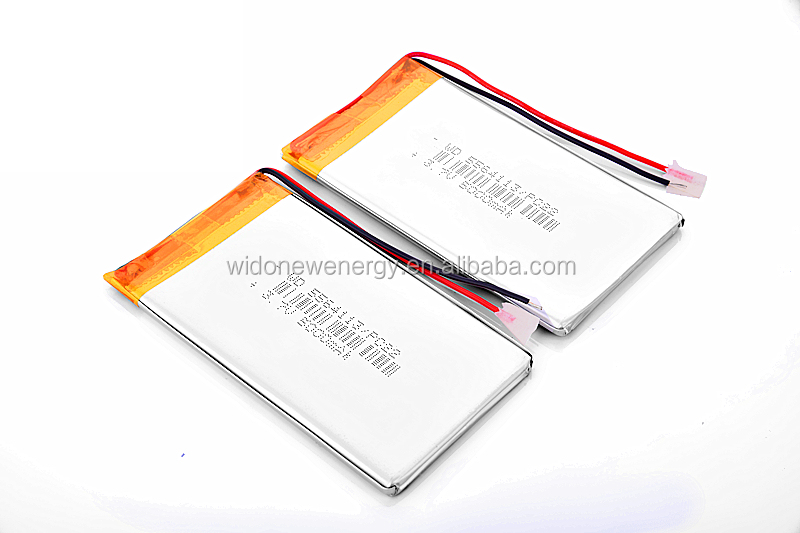 5000mAh lithium polymer battery 3.7V battery with wires 5564113 UL approval