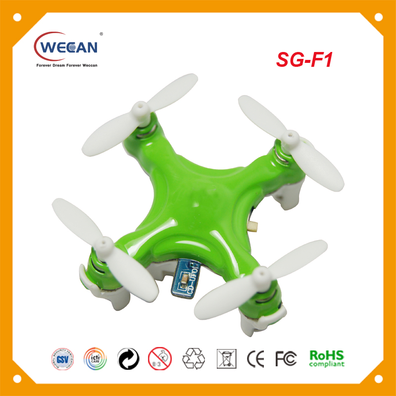 2017 new fashion Weccan F1 4-axis gyro3D uav drone model king drone helicopter with cheap price