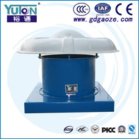 Top Selling Used In Hotel Theater Lab Factory Workshop Steel Roof Axial Exhaust Fan