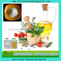 Activated bentonite clay powder for vegetable oil refinery