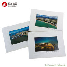 High Quality Card Printing , Embossing Postcard Printing