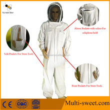 2017 New Design BeeKeeper Bee Keeping Protection Overall Suit for Sale