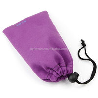 low price muslin ipod microfiber cords pouch