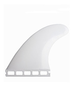 High Quality Nylon Future Base Surfboard Fins Thruster Fin Set (3 pcs) White