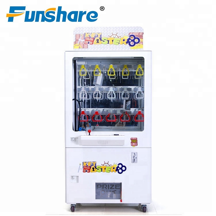 best price coin operated prize gift toy claw machine bill acceptor key master arcade game machine