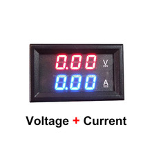 Factory Directly 3 Numbers LED tube display for voltage and current DC 100V 0-999ma 100A Led Digital Amp Volt Meter for Modules