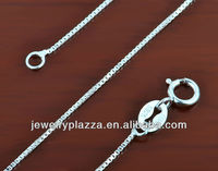 2013 Hot sale 925 sterling silver small snake chain 0.6mm
