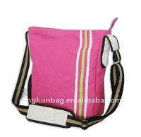 fashion eco-friendly laminated shoulder bag