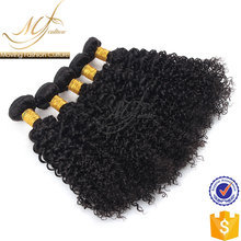 2017 Professional manufacturer light brown indian hair weave extensions kinky curly