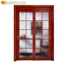 Red plywood wooden finish price lowes cheap sliding closet doors