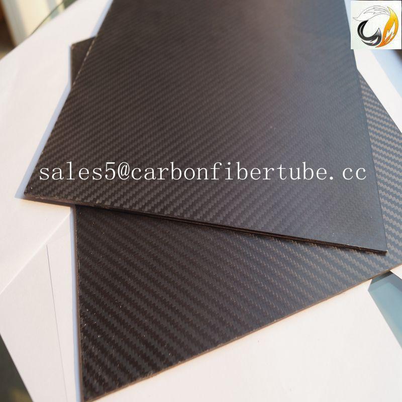 how to make flat carbon fiber panels