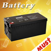 Factory direct price of lead acid battery AGM lead acid battery 12v 200ah