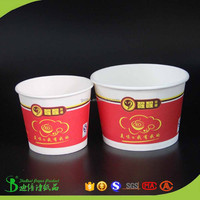400ml 500ml 750ml 1000ml lunch delivery paper bowls for Central African Republic food chains