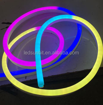 Outdoor/indoor CE RoHS china supplier for color changing neon flexible led light led ribbon light