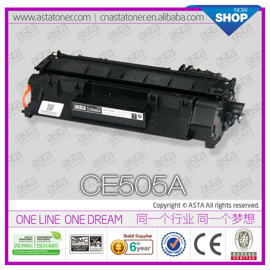ASTA Brand CE505A Original Quality Compatible For HP 05A Toner Cartridge