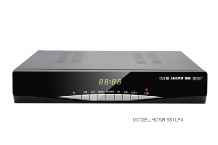 2017 4K HD MPEG-4 FTA digital satellite receiver HDSR-681