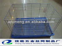 Stainless steel, galvanized material pet cage