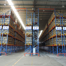 Accessories display rack pallet rack for heavy duty warehouse storage