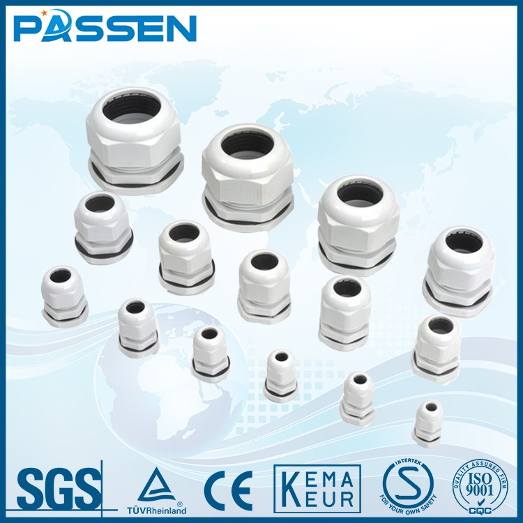 PASSEN IP68 waterproof cable gland size/brass cable gland