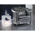 Acrylic led side tables 21309108/frosted perspex LED cube light/acrylic furniture/living room furnishing
