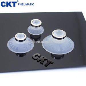 SMC 2-50mm pvc vacuum industrial suction cup / mini plastic suction pad / silicone rubber micro strong suction sucker