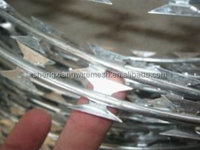 Sharp Blades and Safety Razor Barbed Wire (Factory)